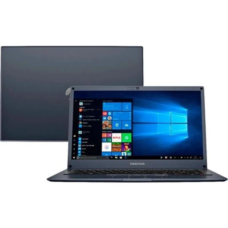 Notebook Positivo Motion Q4128C Atom 4GB 128GB SSD