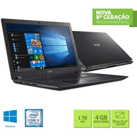 Notebook Aspire 3  A315-51-30V4
