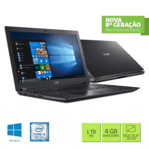 Notebook Acer A315-51-30V4