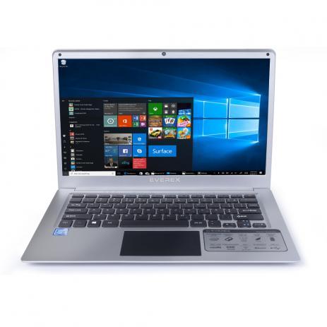 Notebook Everex Intel Quad Core Z8350