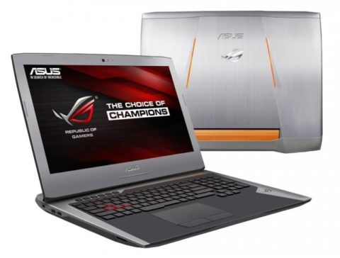 Notebook Gamer Asus G752V I7 32GB RAM  GTX 980M