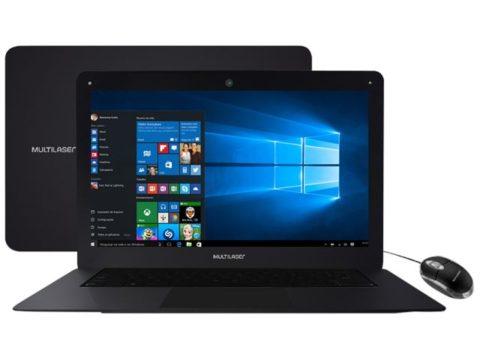"Notebook Multilaser Legacy Intel Quad Core – 2GB 32GB 14"" Windows 10"