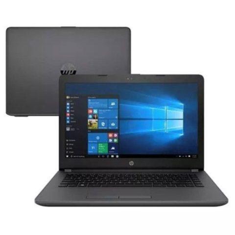 "Notebook HP 246 G6 Core i3-7020U 4GB 128GB SSD Tela 14"" Windows 10"