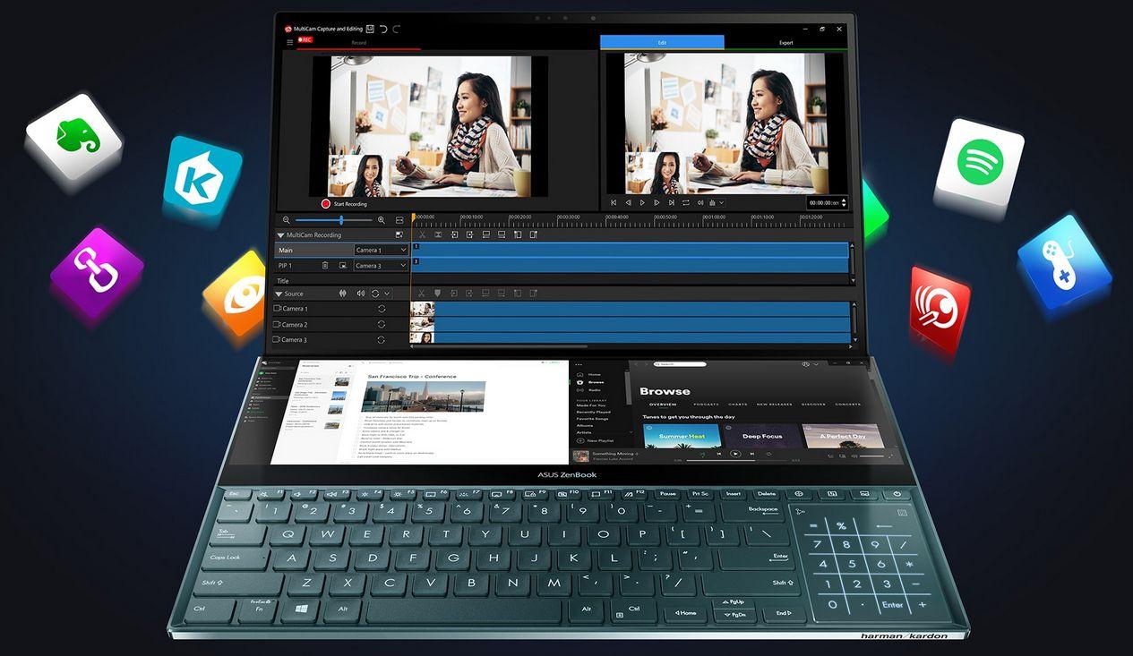 Novo Asus Zenbook Pro Duo 15