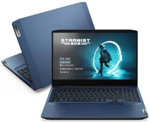 Notebook Lenovo Ideapad Gaming 3i 256GB SSD – i5 e Geforce GTX 1650